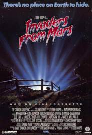 Invaders From Mars poster