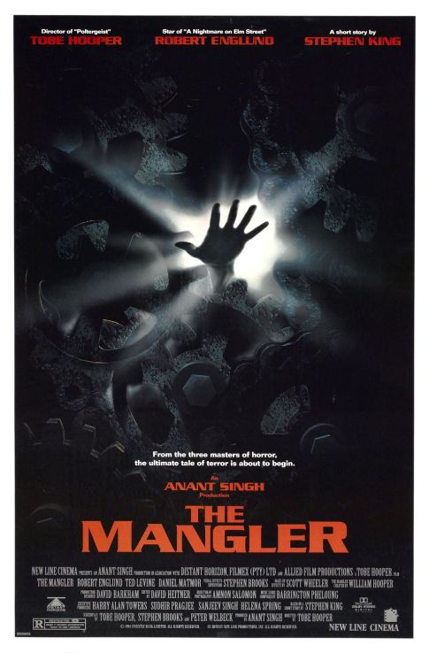 The Mangler theatrical poster