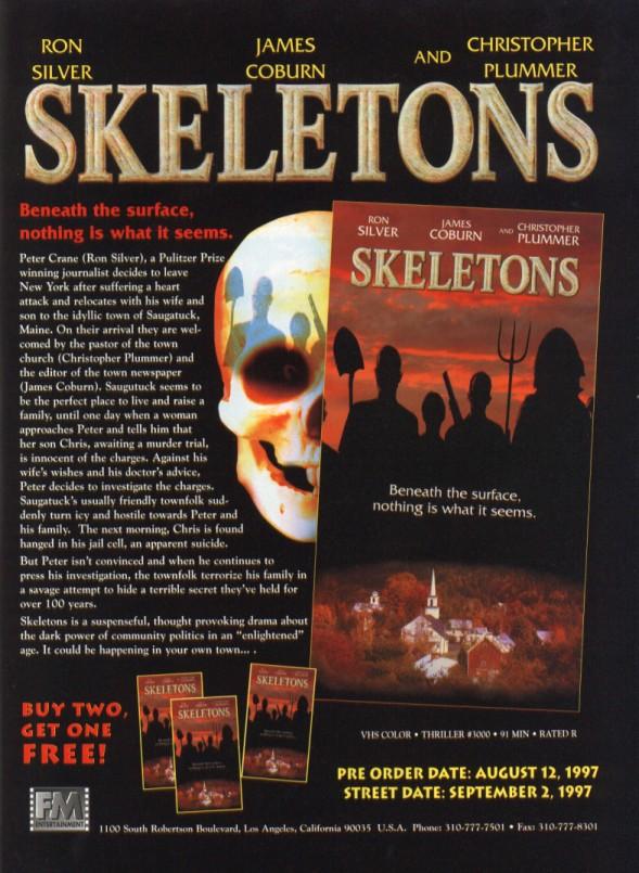 skeletons vhs ad