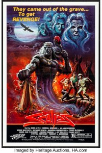 Scalps (1983) - Poster