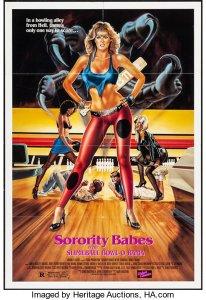 Sorority Babes in the Slimeball Bowl-O-Rama (1988) - Poster