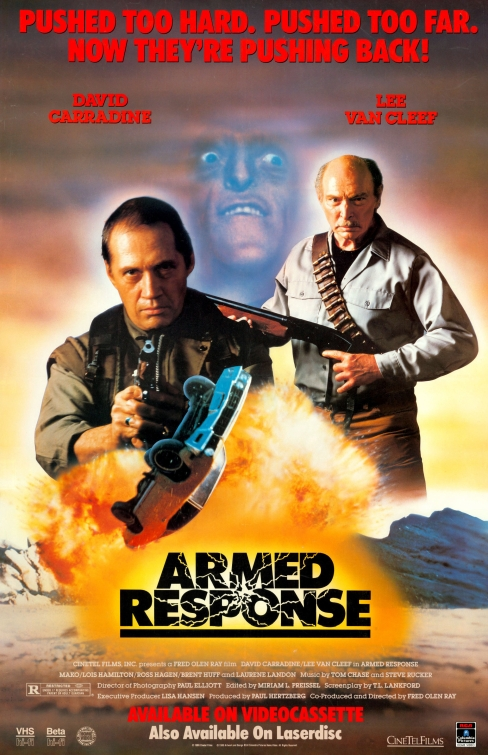 Armed Response (1986) - Poster
