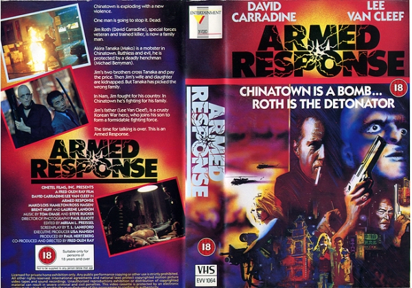 Armed Response (1986) - VHS