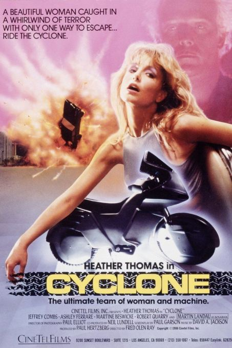 Cyclone (1987) - Poster