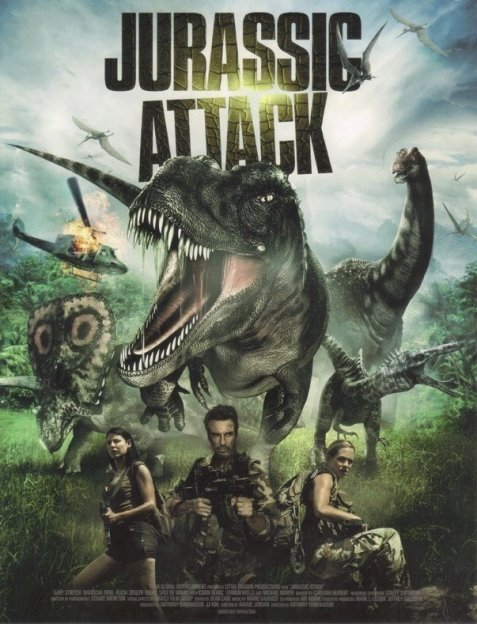 Jurassic Attack (2013) poster