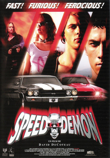 Speed Demon (2003) - French Poster