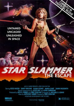 Star Slammer (1986) - Poster