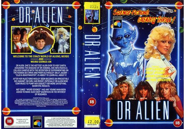 Dr. Alien - UK VHS