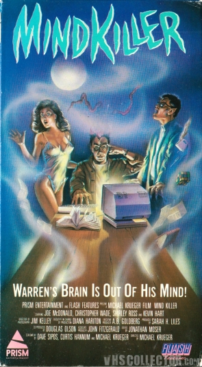 Mindkiller (1987) US VHS