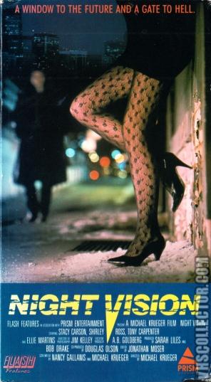 Night Vision (1987) - US VHS