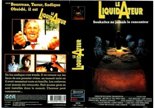 Return of the Family Man (1989) - France VHS