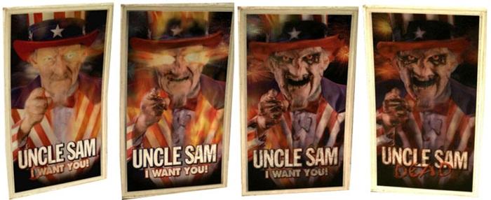 Uncle Sam (1996) lenticular