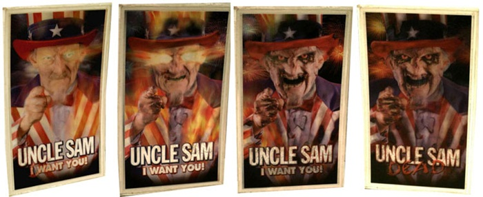 Uncle Sam (1996) lenticular