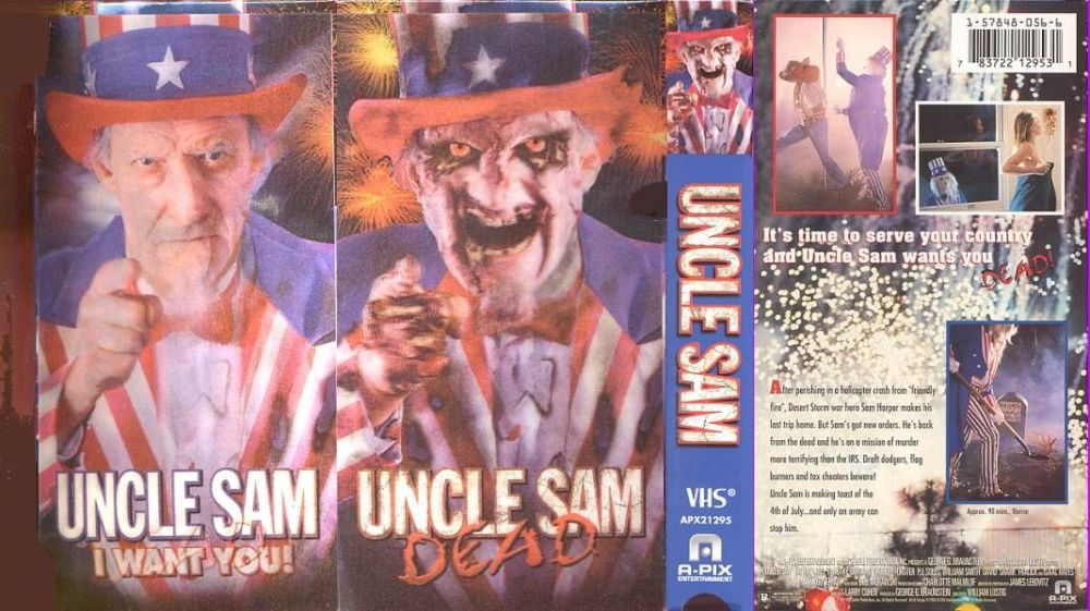 Uncle Sam (1996) US VHS