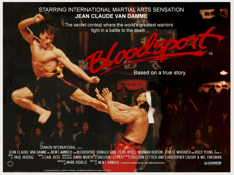 Bloodsport (1988) UK Quad