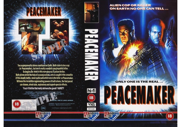 Peacemaker (1990) VHS