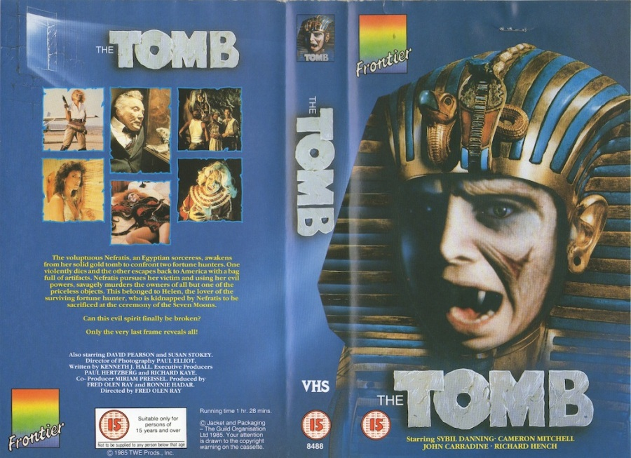 The Tomb (1986) UK VHS