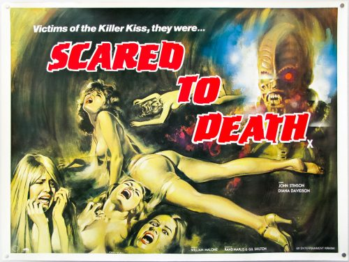 Scared to Death (1980) UK Quad